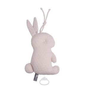Muziekdoos konijn Cloud classic roze