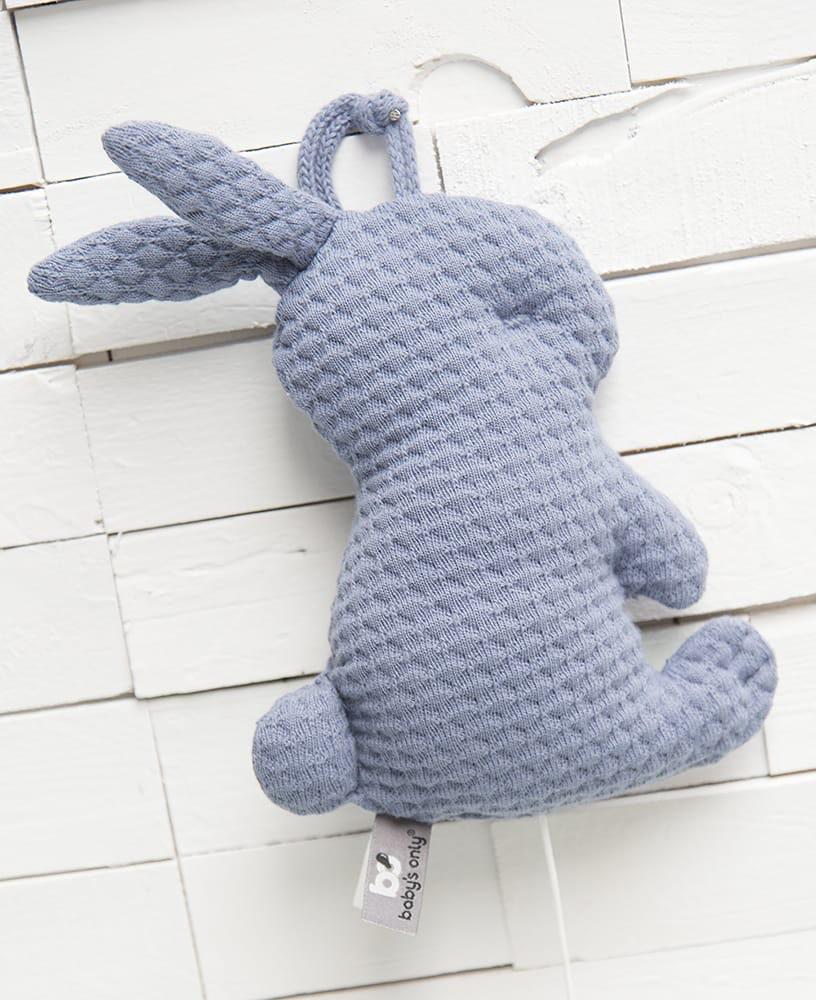 muziekdoos konijn cloud grijs