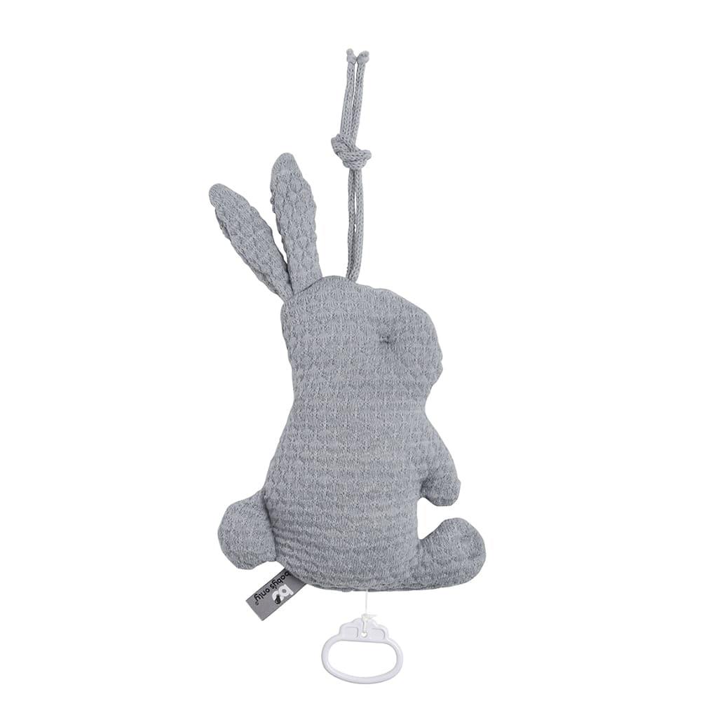 babys only 0354922 muziekdoos konijn cloud grijs 1