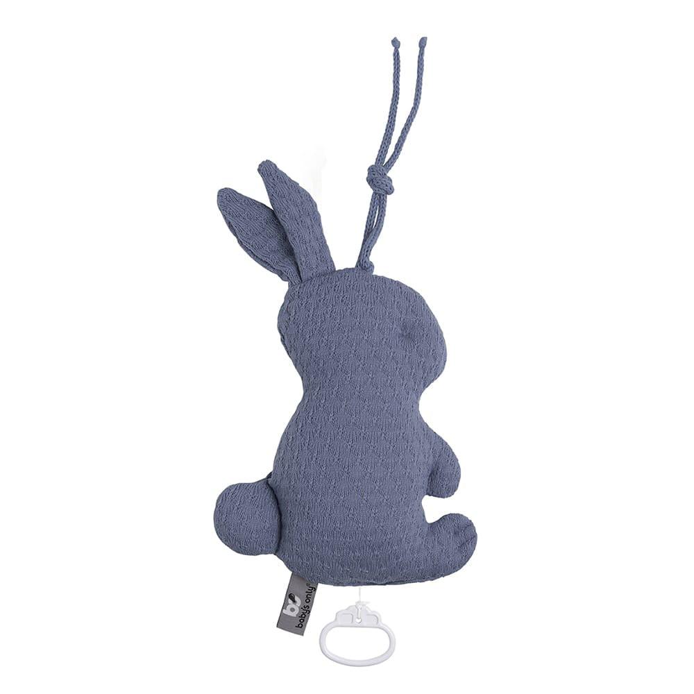 babys only 0354932 muziekdoos konijn cloud indigo 1