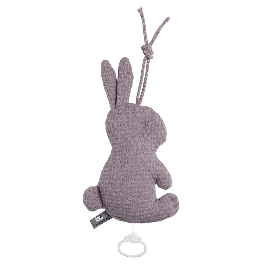 babys only 0354934 muziekdoos konijn cloud lavendel 1