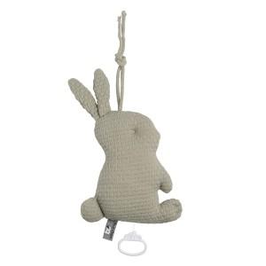 Muziekdoos konijn Cloud olive