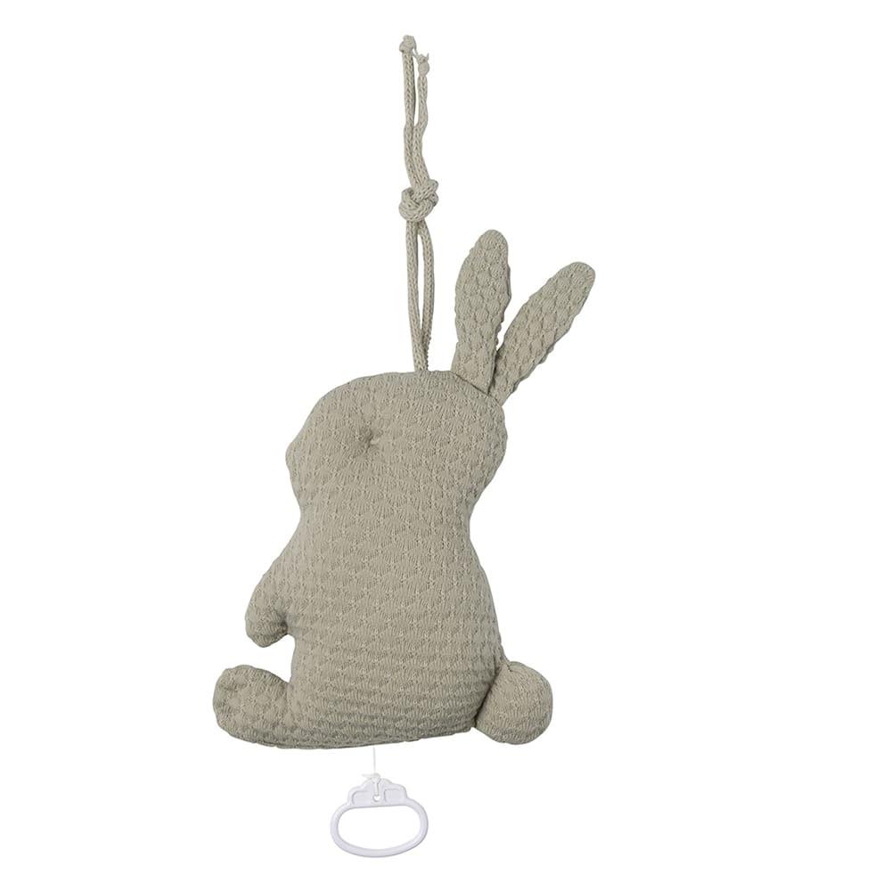 babys only 0354933 muziekdoos konijn cloud olive 2