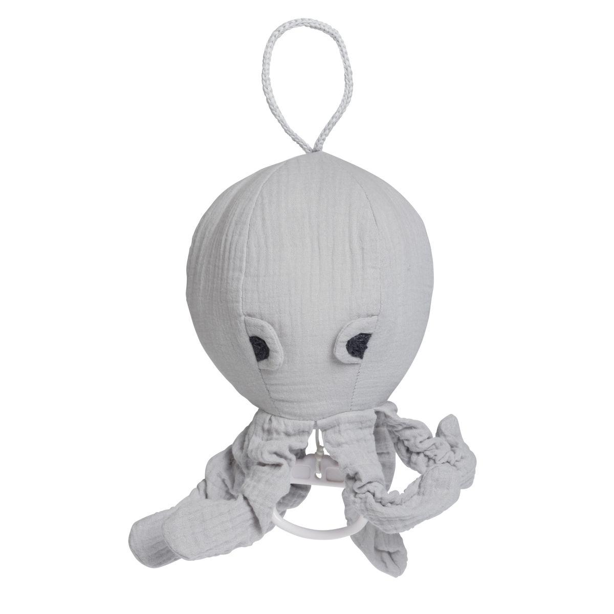babys only 0234922 muziekdoos octopus breeze grijs 1