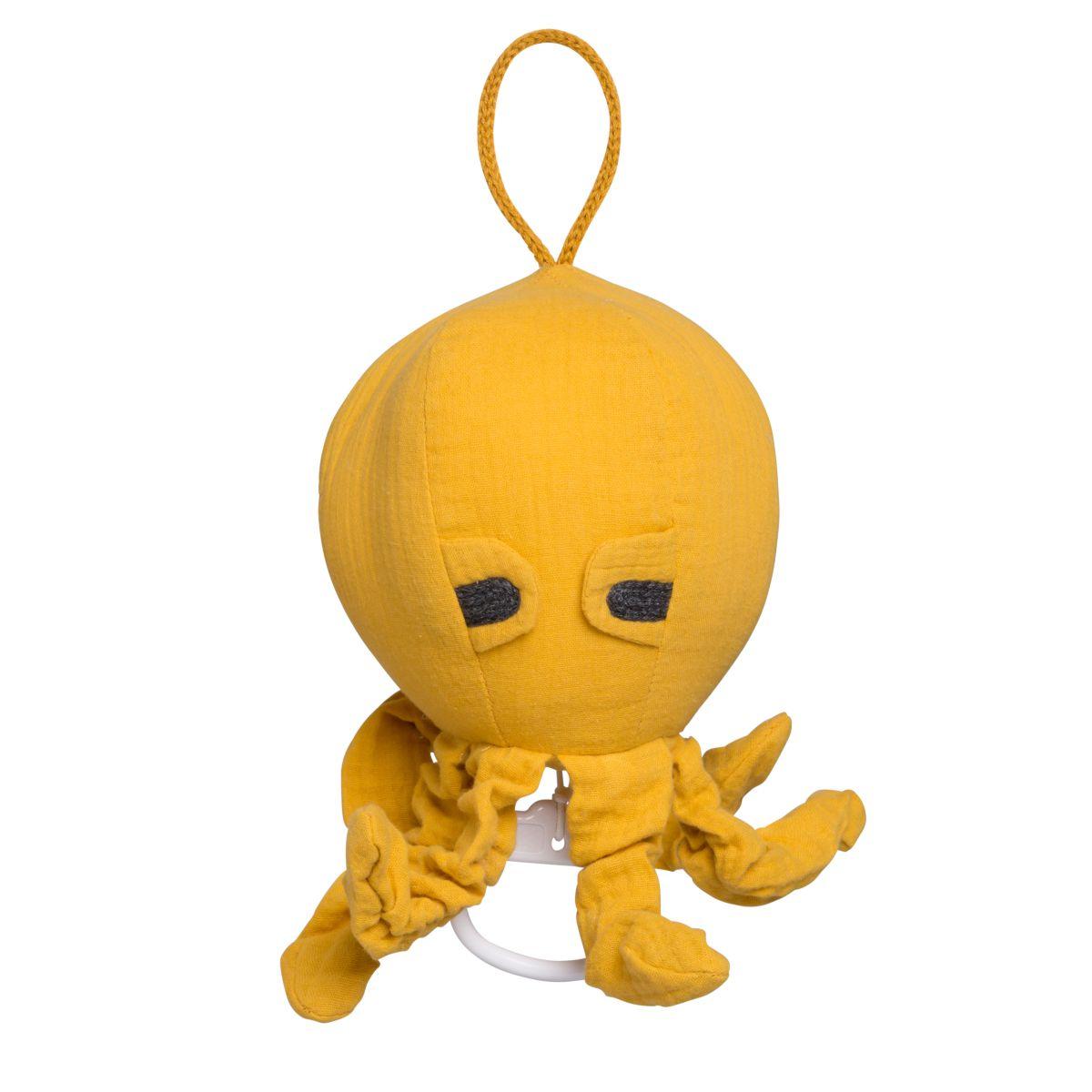 babys only 0234917 muziekdoos octopus breeze oker 1