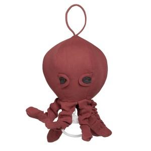 Muziekdoos Octopus Breeze stone red