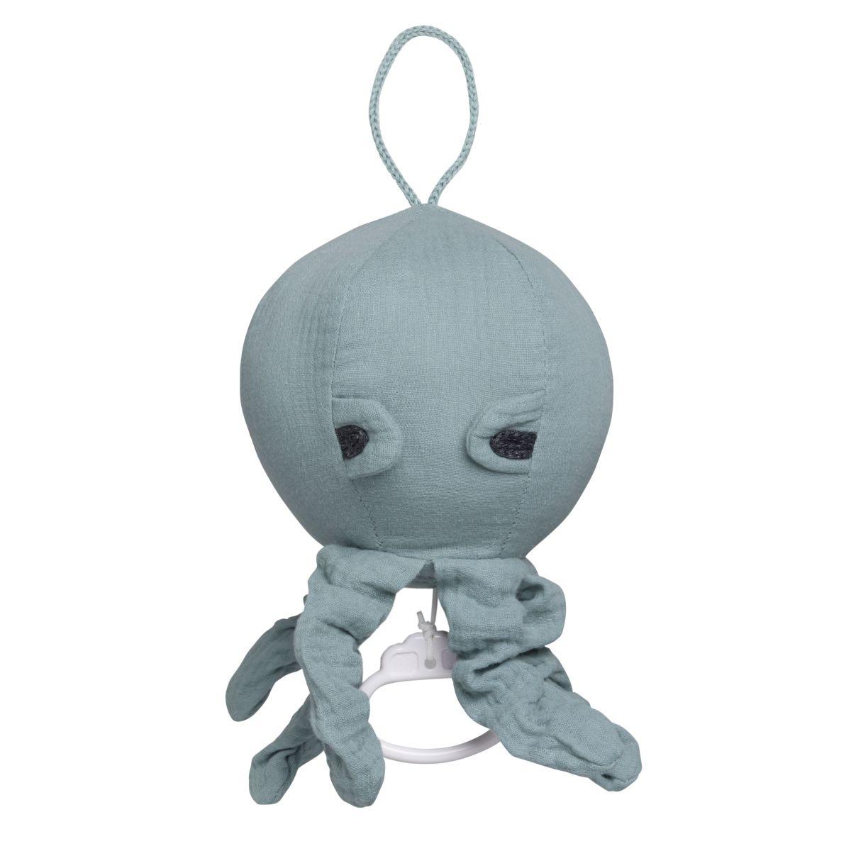 babys only 0234910 muziekdoos octopus breeze stonegreen 1