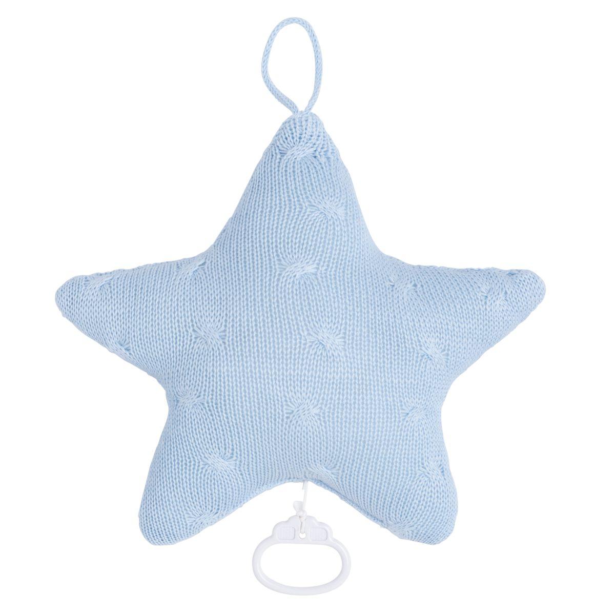 babys only 0132920 muziekdoos ster cable baby blauw 2