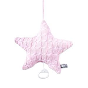 Muziekdoos ster Cable baby roze