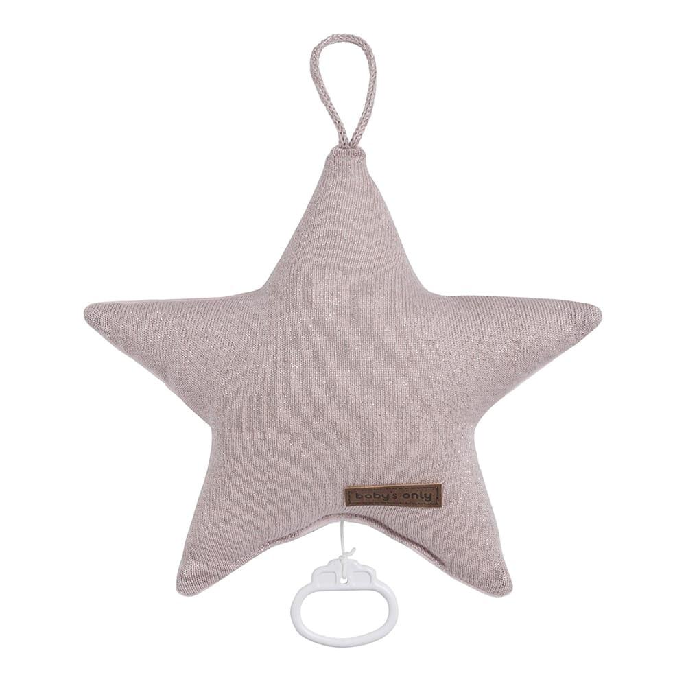 babys only 0402971 sparkle muziekdoos ster zilverroze melee 1