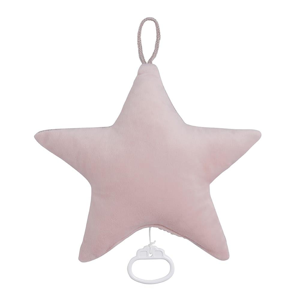 babys only 0402971 sparkle muziekdoos ster zilverroze melee 2
