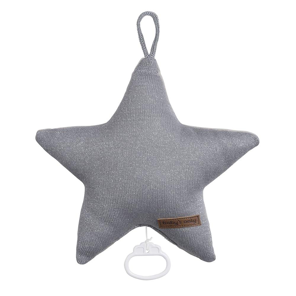babys only 0402972 sparkle muziekdoos ster zilvergrijs melee 1