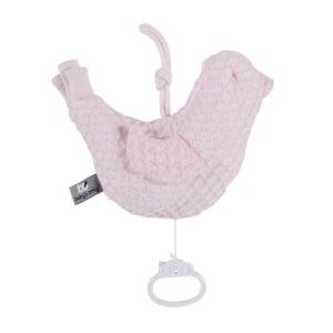 Muziekdoos vogel Sun classic roze/baby roze