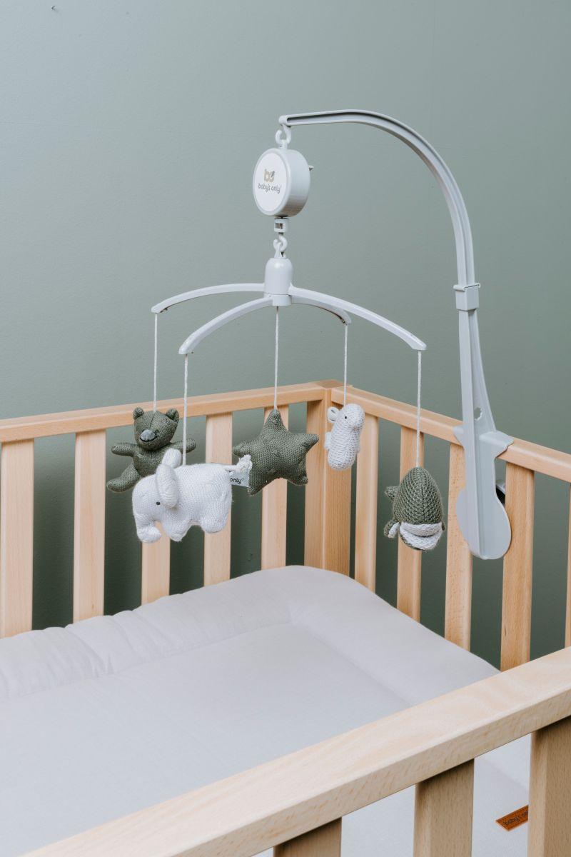 babys only 0852355 muziekmobiel khaki zilvergrijs 3