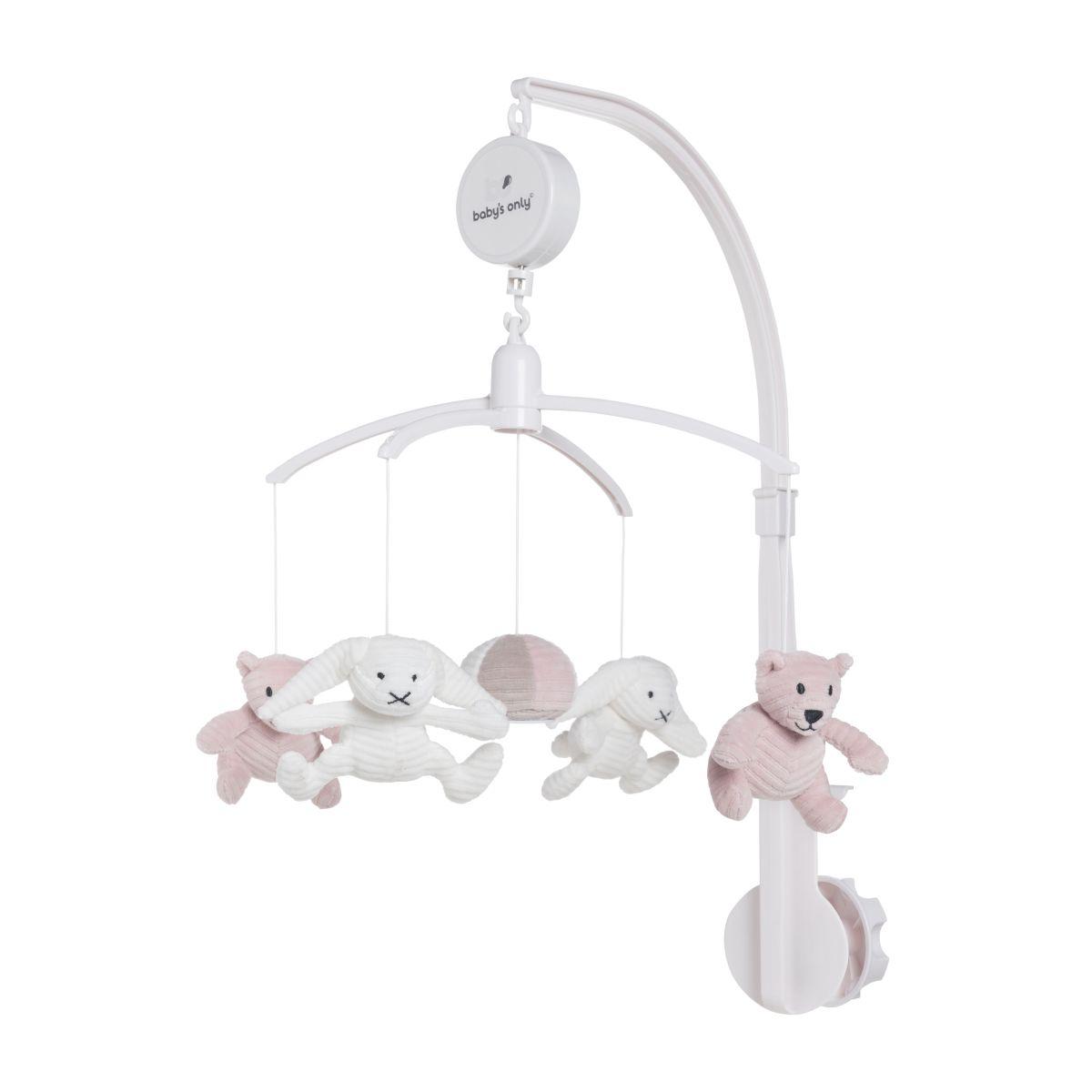 babys only bo024023056 sense muziekmobiel oud roze 1