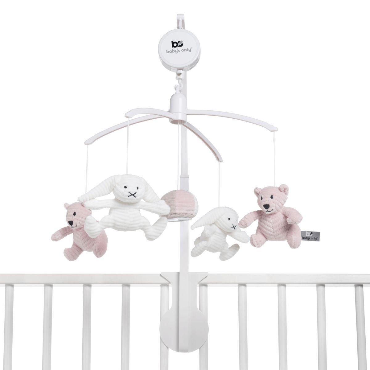 babys only bo024023056 sense muziekmobiel oud roze 2