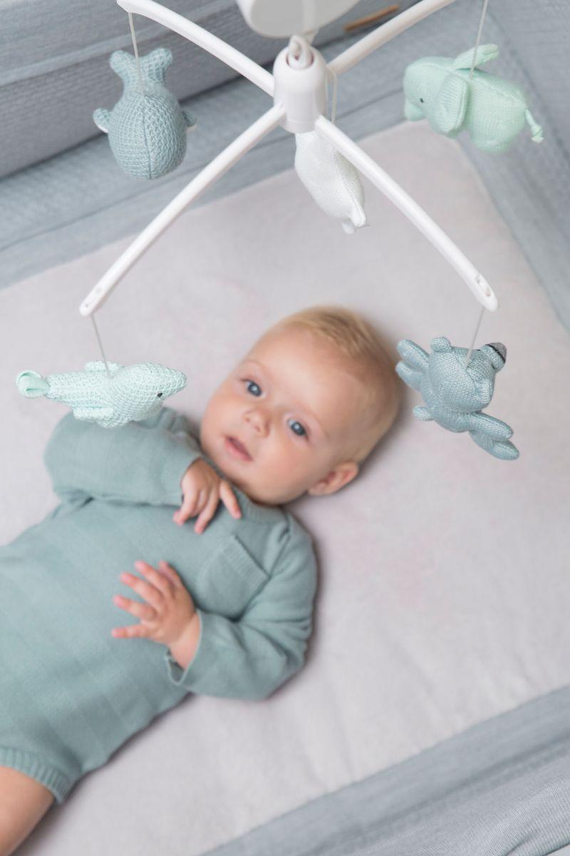 babys only 0852353 muziekmobiel stonegreen mint wit 3