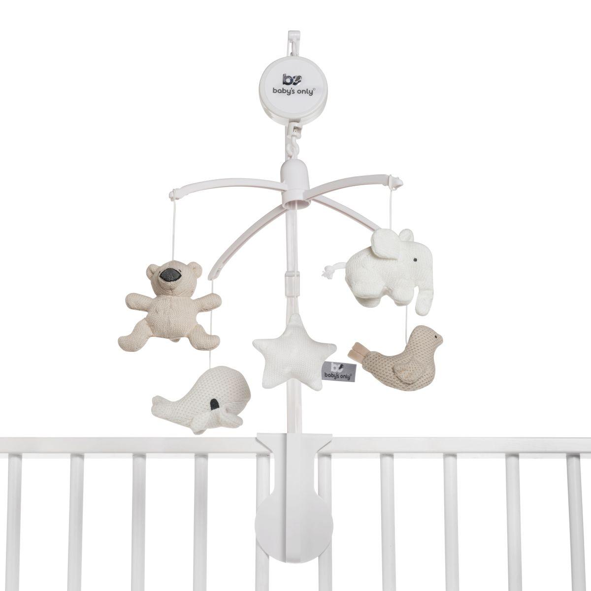 babys only 0852354 muziekmobiel beige zand wit 2