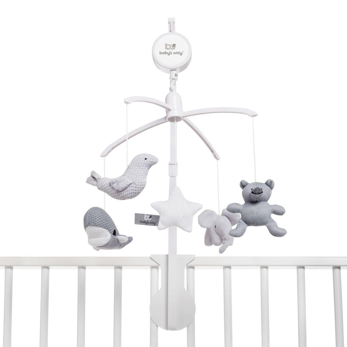 babys only 0852352 muziekmobiel zilvergrijs grijs wit 2