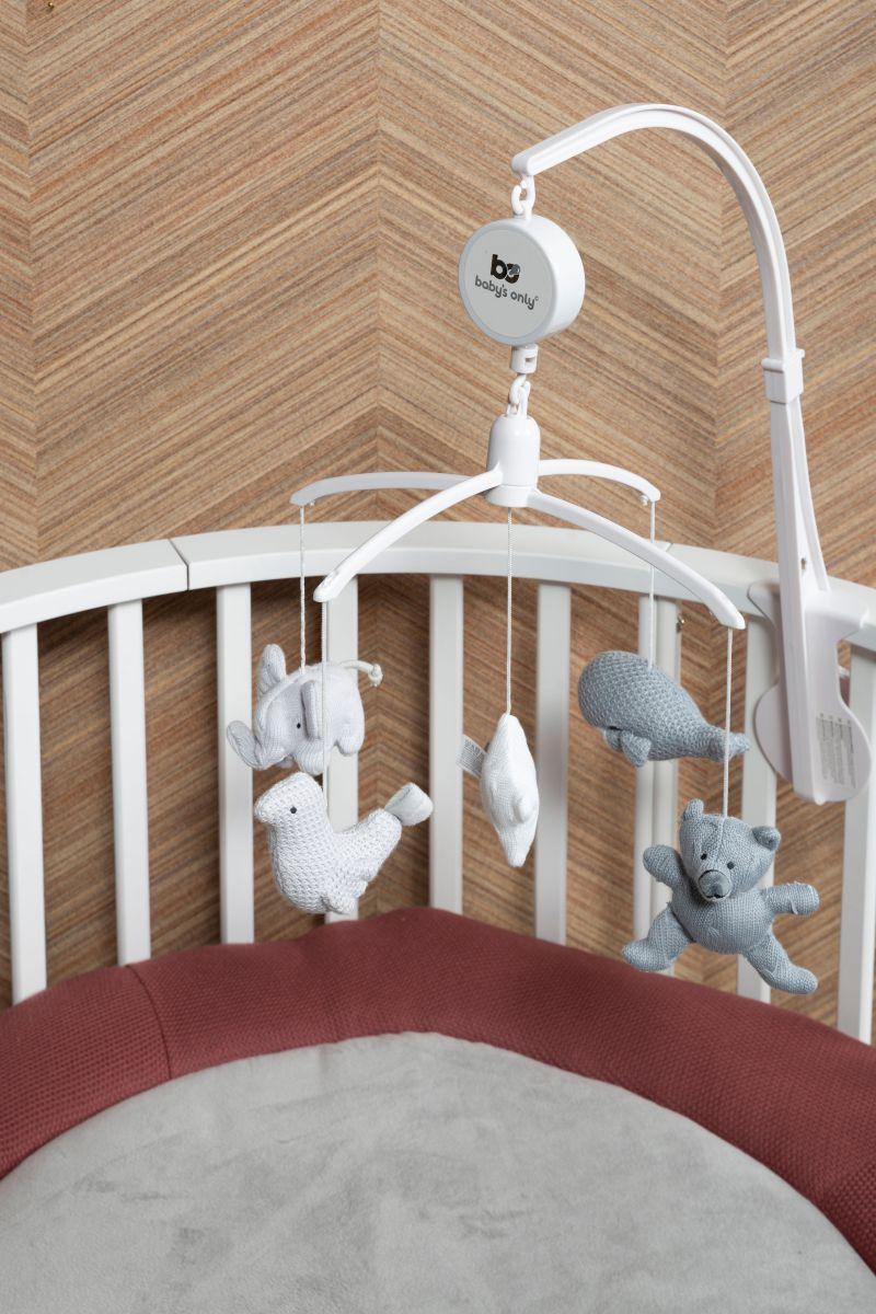 babys only 0852352 muziekmobiel zilvergrijs grijs wit 3