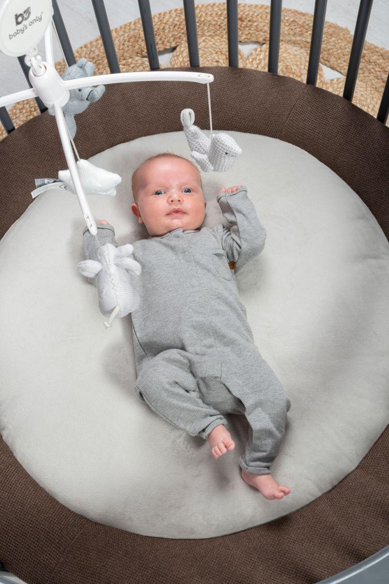 babys only 0852352 muziekmobiel zilvergrijs grijs wit 5