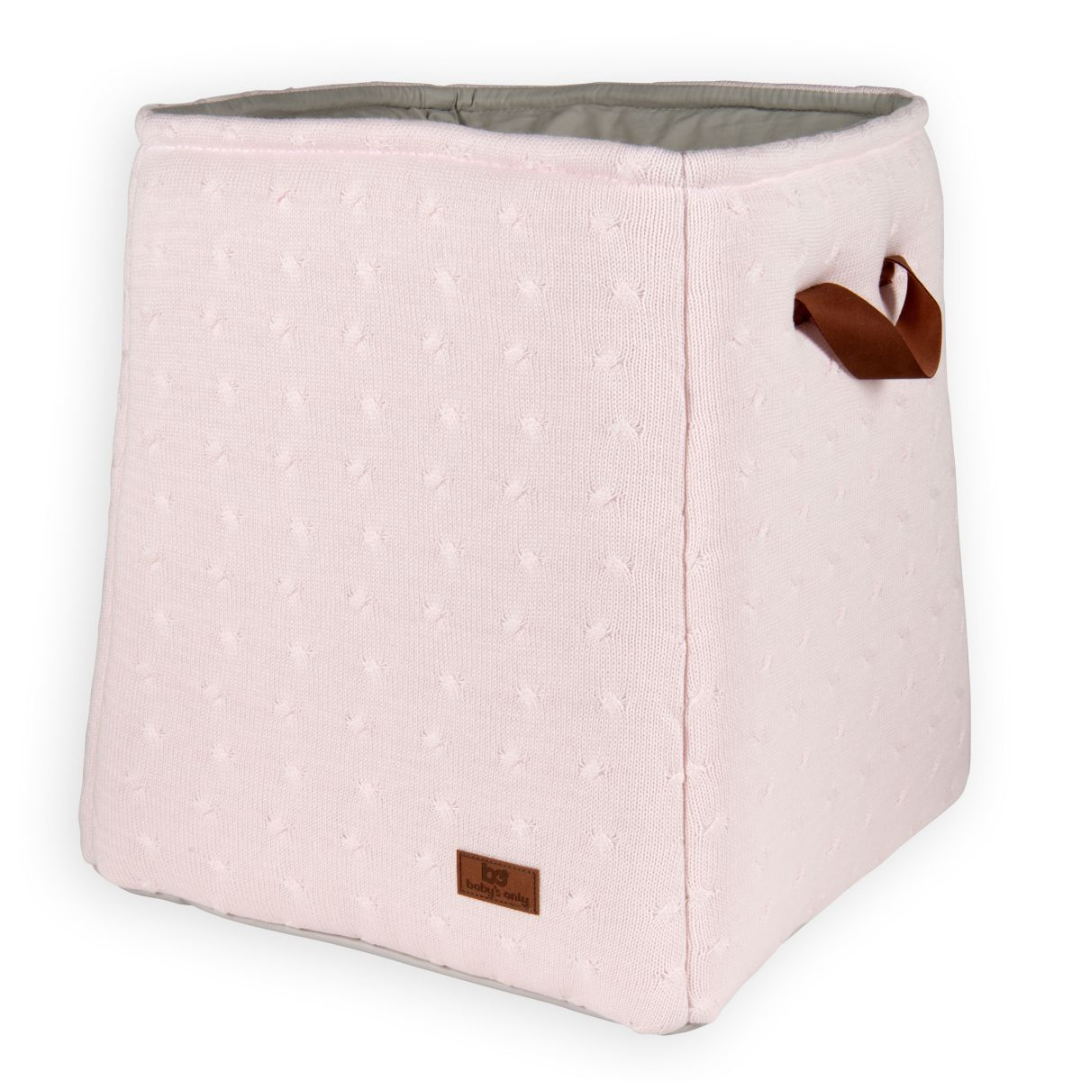 babys only 0134001 opbergmand cable classic roze