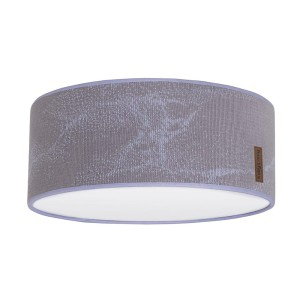 Plafonnière Marble cool grey/lila - Ø35 cm
