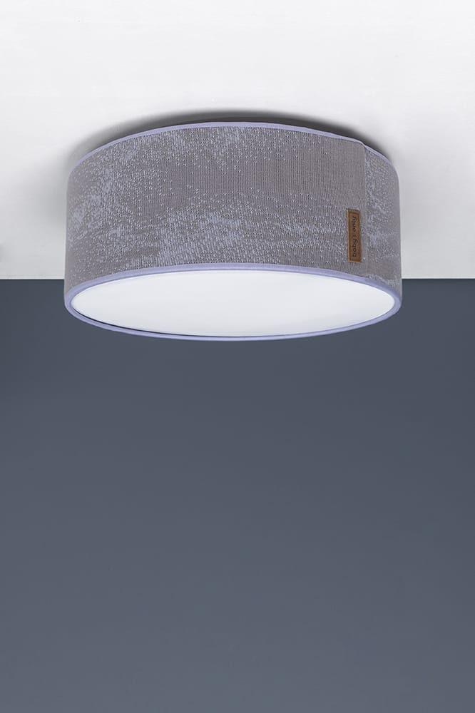 plafonnire marble cool greylila 35 cm