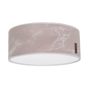 Plafonnière Marble oud roze/classic roze - Ø35 cm