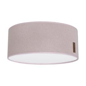 Plafonnière Sparkle zilver-roze mêlee - Ø35 cm