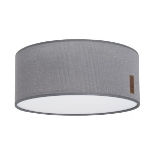 Plafonnière Sparkle zilvergrijs mêlee - Ø35 cm