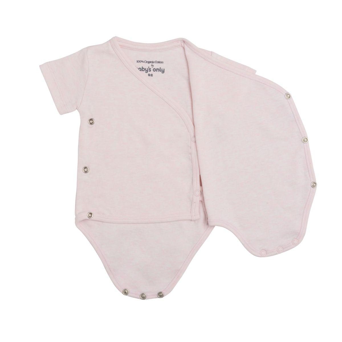 babys only 3455001 rompertje melange 50 classic roze 2