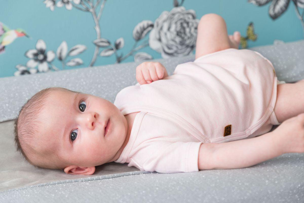 bo340336 babys only melange rompertje 1