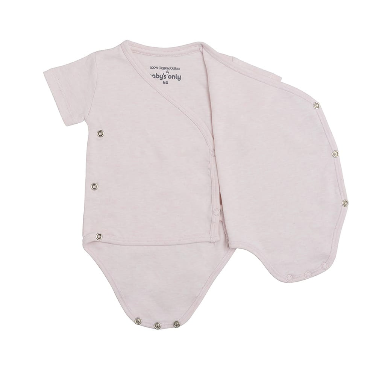babys only 3456801 rompertje melange 68 classic roze 2