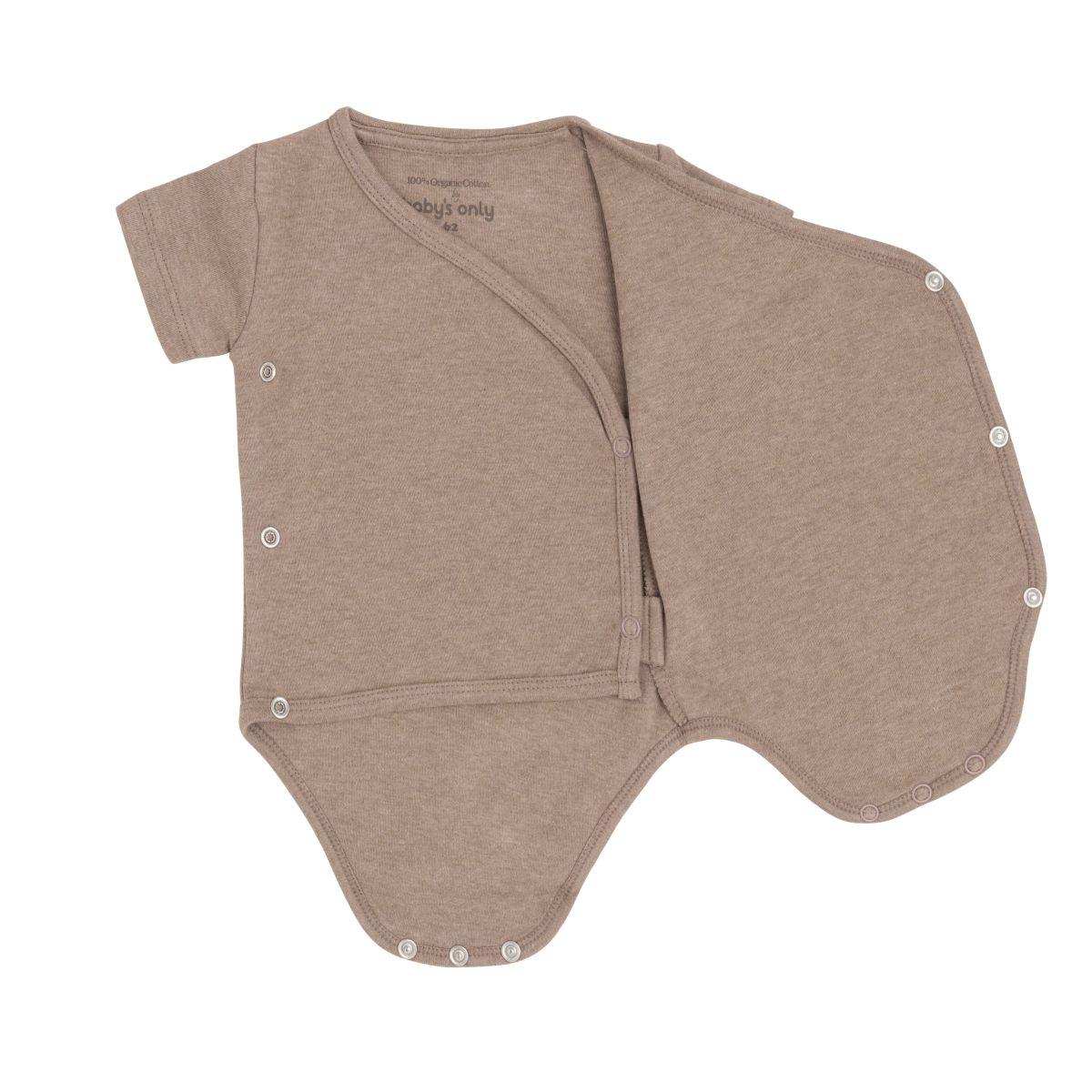 babys only bo340336041 melange rompertje clay 2