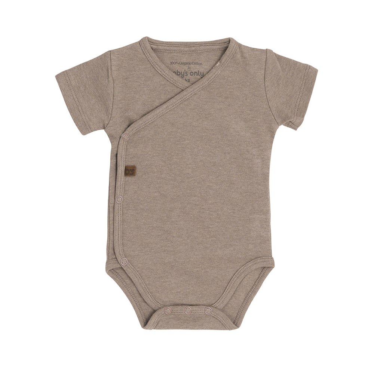 babys only bo340336041 melange rompertje clay 1