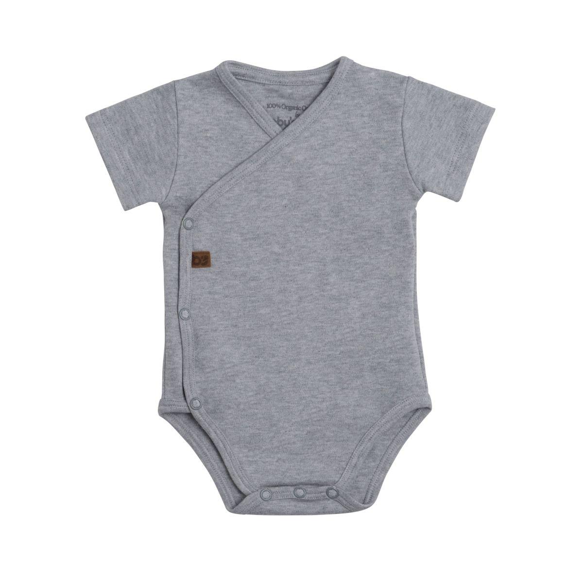 babys only 3455022 rompertje melange 50 grijs 1