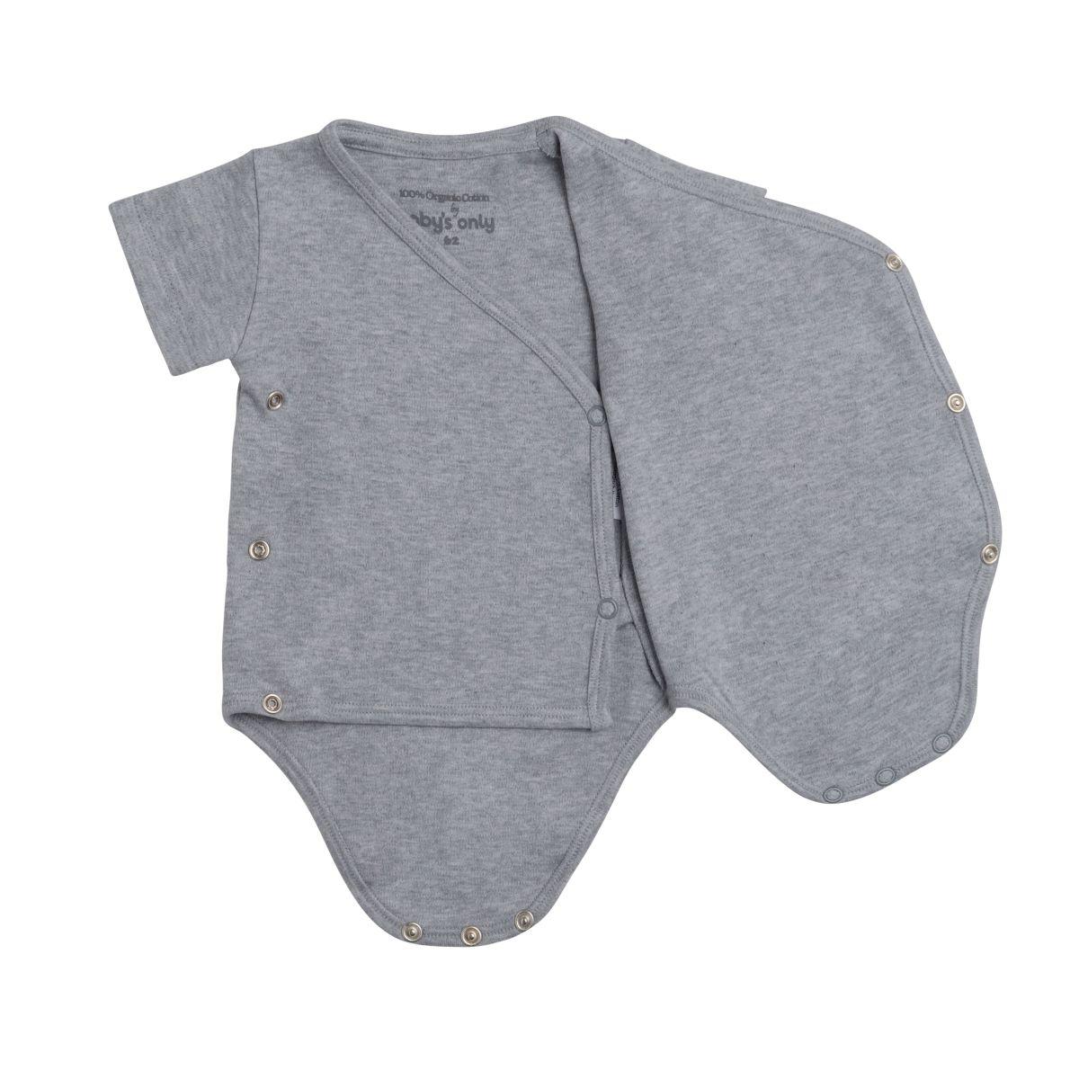 babys only 3455022 rompertje melange 50 grijs 2