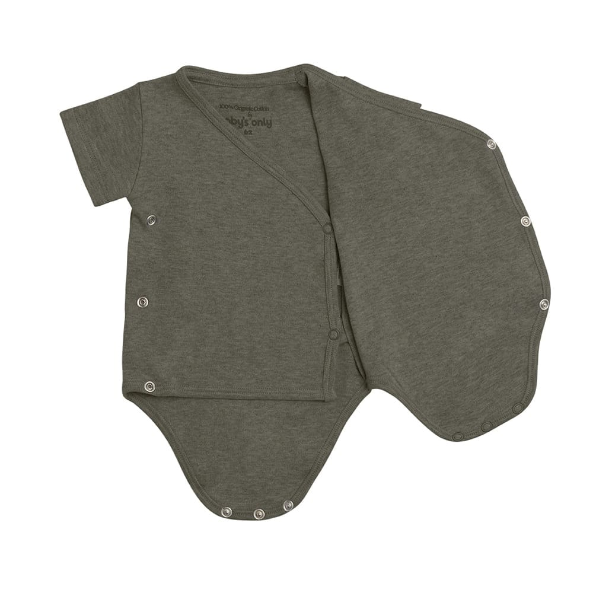 babys only 3455025 rompertje melange 50 khaki 2