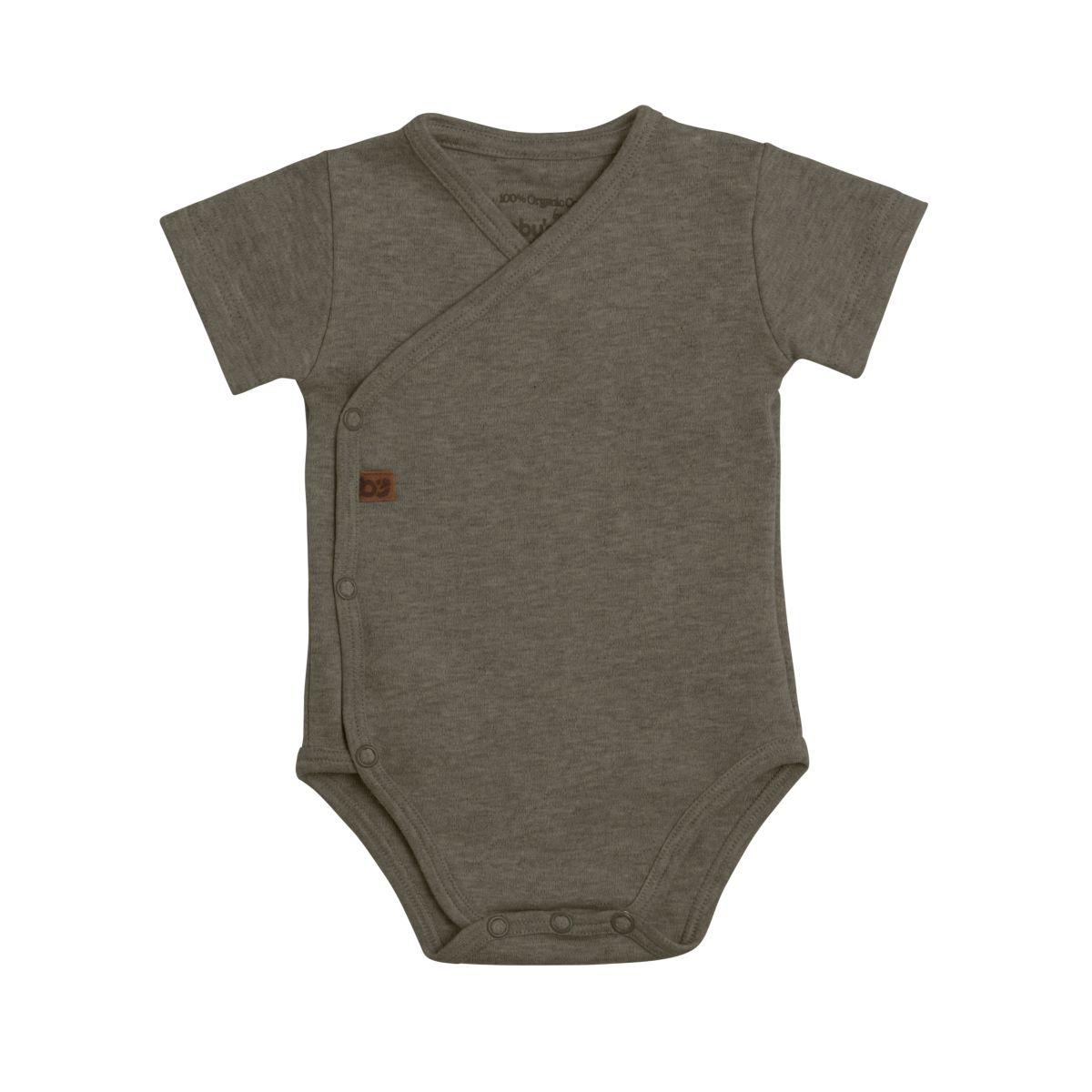 babys only 3455625 rompertje melange 56 khaki 1