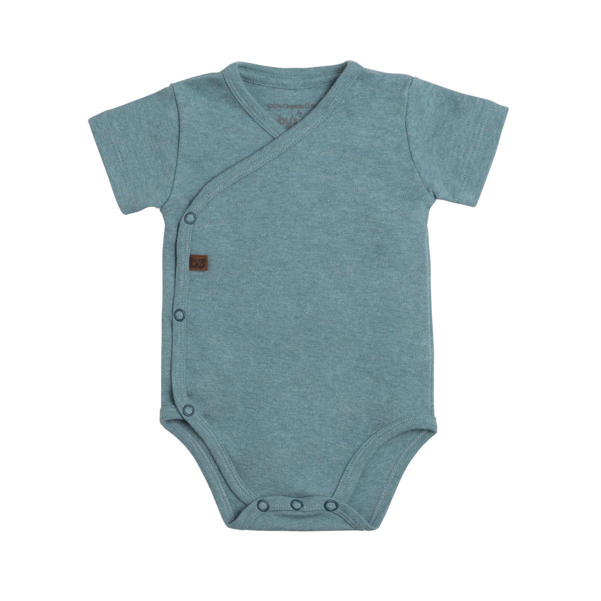 babys only 3456210 rompertje melange 62 stonegreen 1