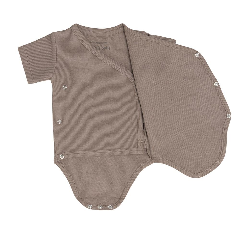 babys only bo341336039 pure rompertje mokka 3