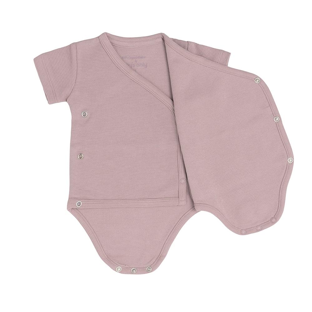 babys only bo341336007 pure rompertje oud roze 3