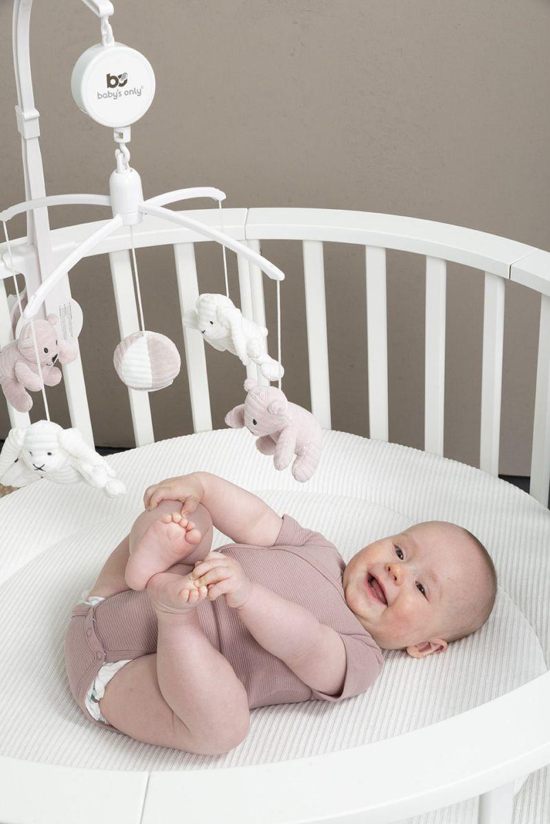 babys only bo341336007 pure rompertje oud roze 4