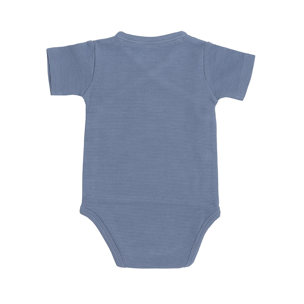babys only bo341336038 pure rompertje vintage blue 2
