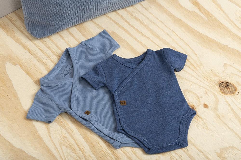 babys only bo341336038 pure rompertje vintage blue 6