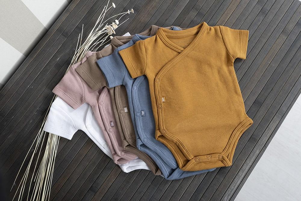 babys only bo341336038 pure rompertje vintage blue 8