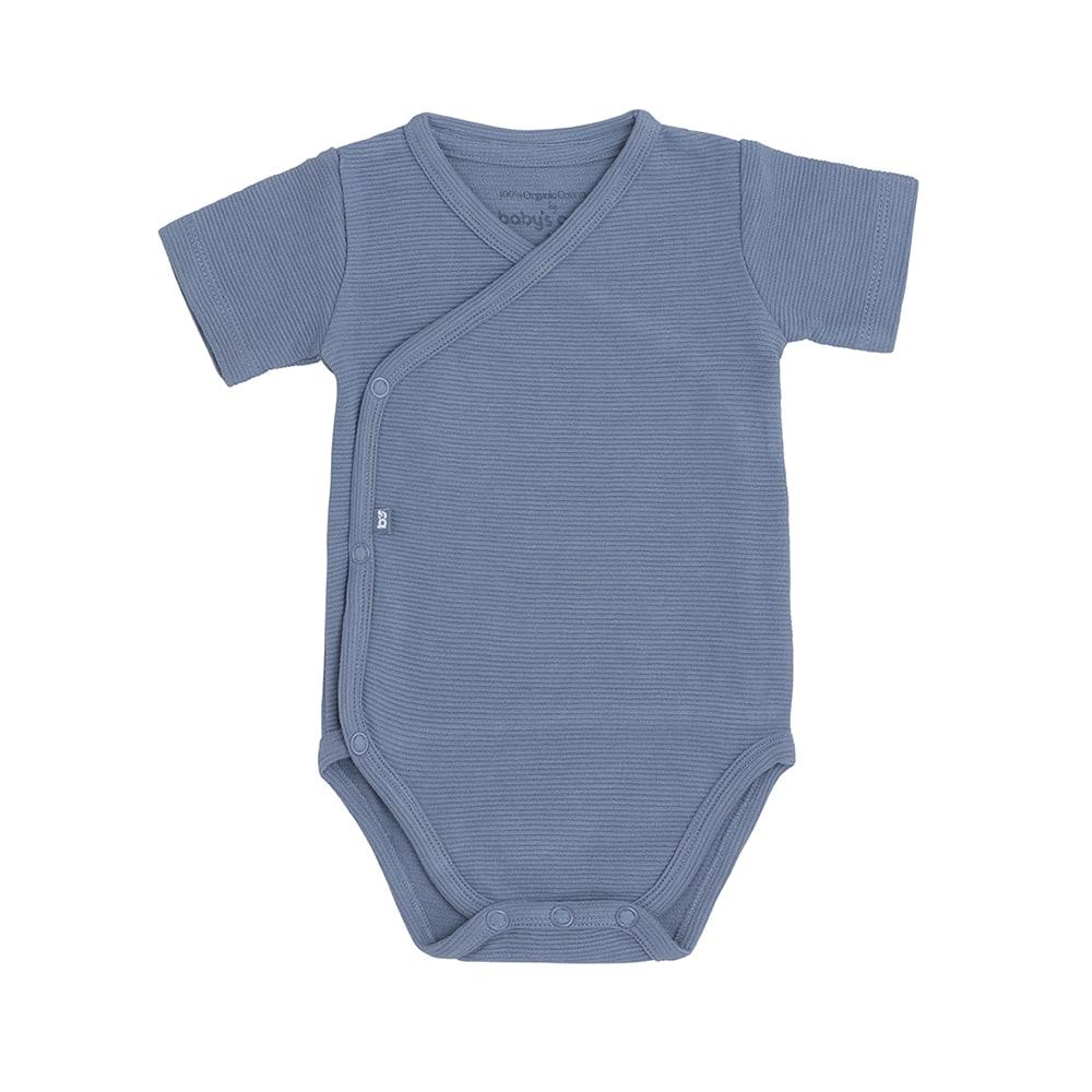 babys only bo341336038 pure rompertje vintage blue 1