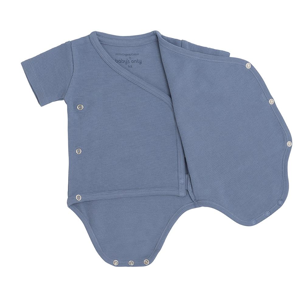 babys only bo341336038 pure rompertje vintage blue 3