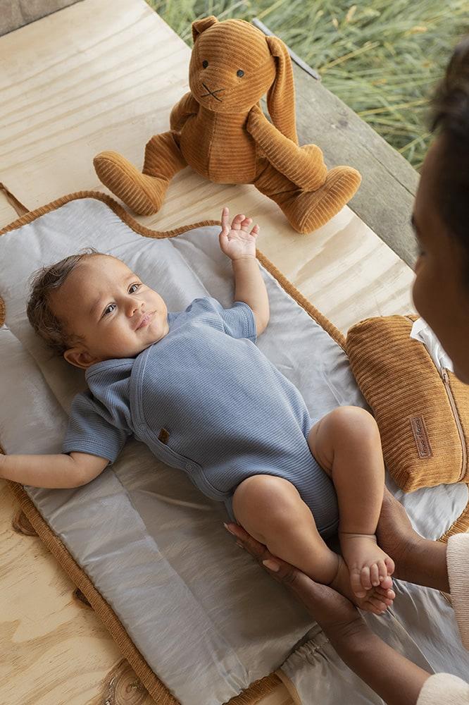 babys only bo341336038 pure rompertje vintage blue 4